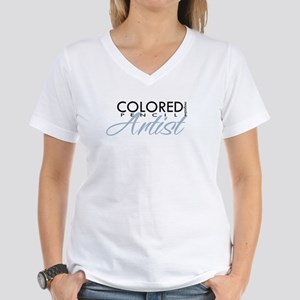 CPM - Blue Women's V-Neck T-Shirt