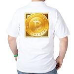 Bitcoins-3 Golf Shirt