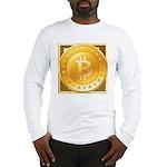 Bitcoins-3 Long Sleeve T-Shirt