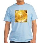 Bitcoins-3 Light T-Shirt