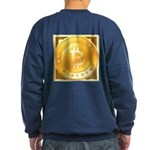 Bitcoins-3 Sweatshirt (dark)