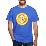 Bitcoins-5 Dark T-Shirt
