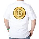 Bitcoins-5 Golf Shirt