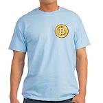 Bitcoins-5 Light T-Shirt