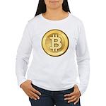 Bitcoins-5 Women's Long Sleeve T-Shirt