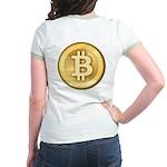 Bitcoins-5 Jr. Ringer T-Shirt