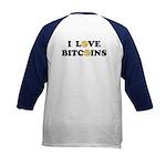 Bitcoins-2 Kids Baseball Jersey