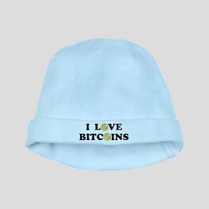 Bitcoins-2 baby hat