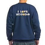 Bitcoins-2 Sweatshirt (dark)