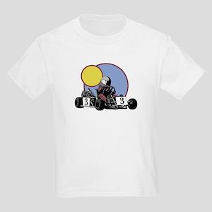 Go Cart Baby Kids T-Shirt