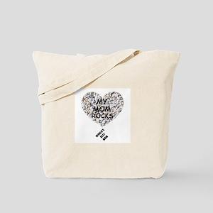 WORLD'S BEST MOM/MY MOM ROCKS Tote Bag