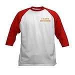 Bitcoins-6 Kids Baseball Jersey