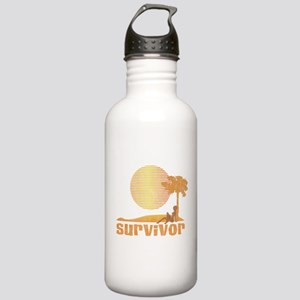 Vintage Survivor Sunset Stainless Water Bottle 1.0