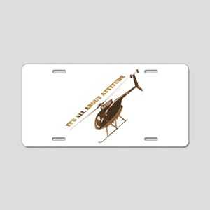 It's all about Attitude Aluminum License Plate