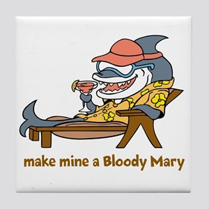 Bloody Mary Tile Coaster