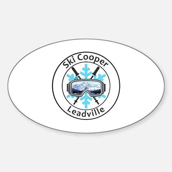 Cute Cooper Sticker (Oval)