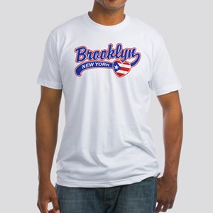 Brooklyn Puerto Rican Fitted T-Shirt