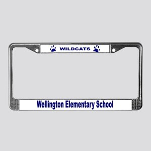 Wildcats License Plate Frame