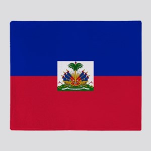 Flag of Haiti Throw Blanket