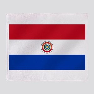 Flag of Paraguay Throw Blanket
