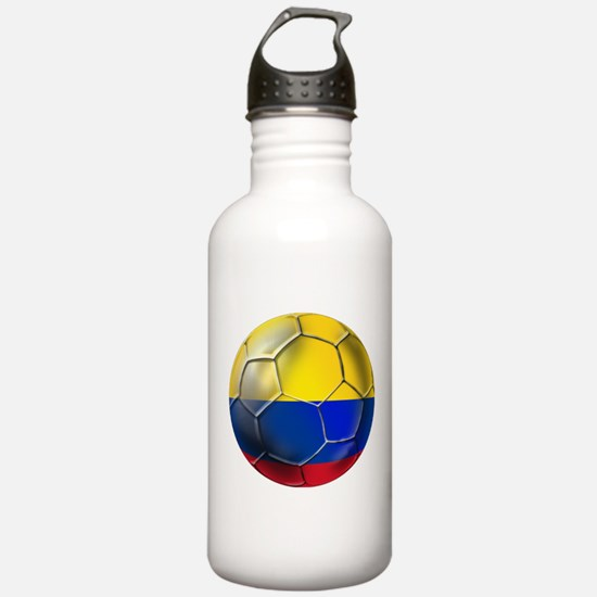 Colombian Soccer Futbol Water Bottle