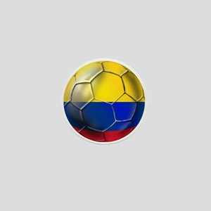 Colombian Soccer Futbol Mini Button