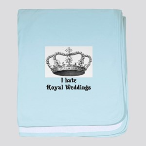 i hate royal weddings (v2, bl baby blanket