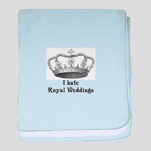 i hate royal weddings (v2, bl baby blanket