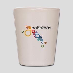 The Island of The Bahamas Shot Glass