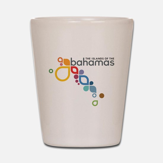 The Island of The Bahamas Shot Glass
