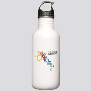 The Island of The Bahamas Stainless Water Bottle 1