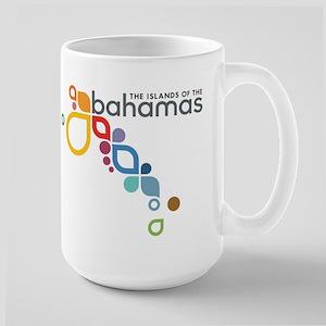 The Island of The Bahamas Large Mug