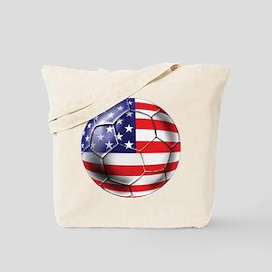 U.S. Soccer Ball Tote Bag