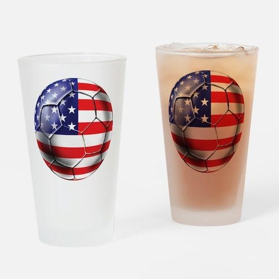 U.S. Soccer Ball Pint Glass