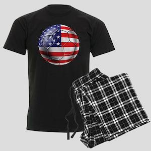 U.S. Soccer Ball Men's Dark Pajamas