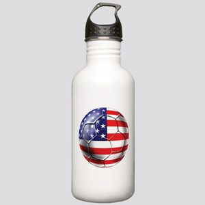 U.S. Soccer Ball Stainless Water Bottle 1.0L