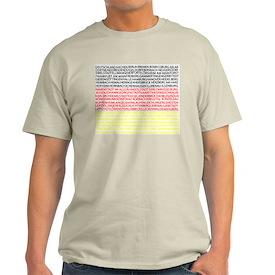 German Cities Flag Pyramid T-Shirt