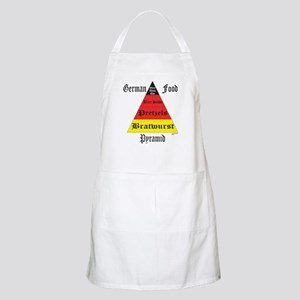 German Food Pyramid BBQ Apron