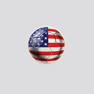 U.S. Soccer Ball Mini Button