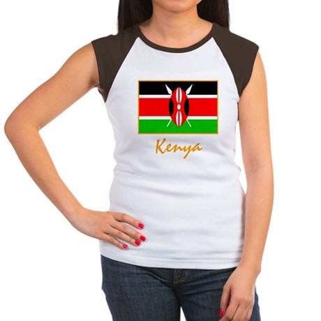 Kenya Women's Cap Sleeve T-Shirt