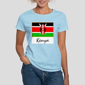 Kenya Women's Pink T-Shirt