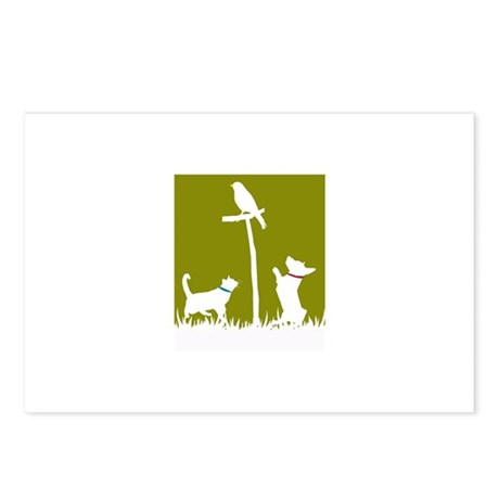 Urban Critters Postcards (Package of 8)