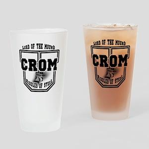 Crom University Pint Glass