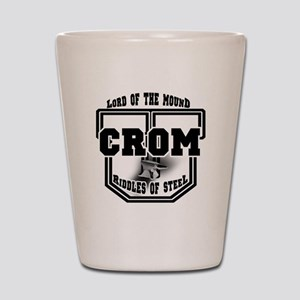 Crom University Shot Glass
