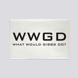 What Would Gibbs Do? Rectangle Magnet