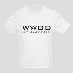 What Would Gibbs Do? Kids Light T-Shirt