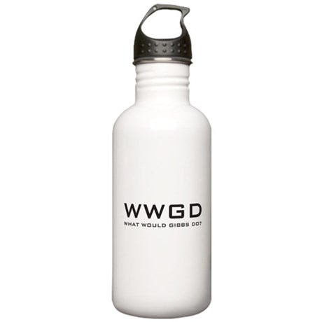 What Would Gibbs Do? Stainless Water Bottle 1.0L