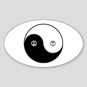 Yin-Yan CND Sticker (Oval)