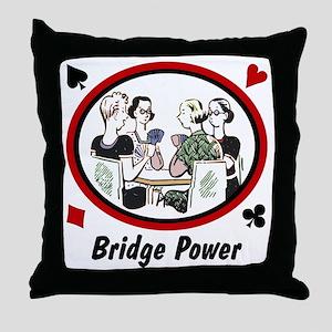 Bridge Power Throw Pillow