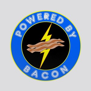 Powered By Bacon Ornament (Round)